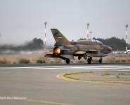 تصاویر رژه هواپیما های جنگی به مناسبت روز ارتش