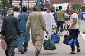 تصاویر 16 تبعه پاکستانی از زندان های هند آزاد شدند