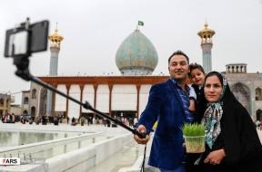 تصاویر تحویل سال نو در  مشهد و شیراز